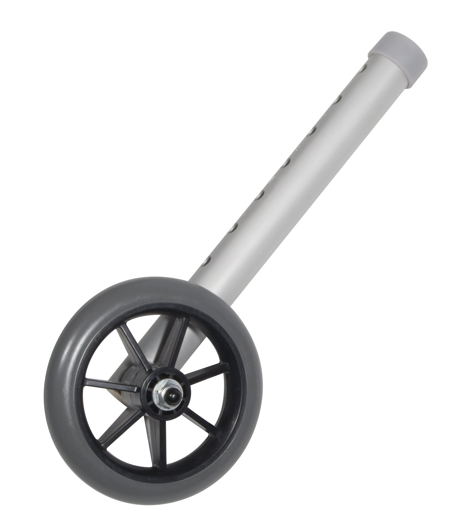 Drive Medical Universal 5'' Walker Wheels, Gray