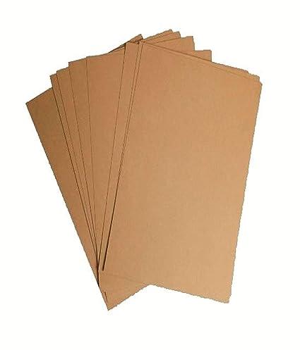 Papel kraft reciclado A4, 100 g/m², 50 hojas 250 sheets (90 ...