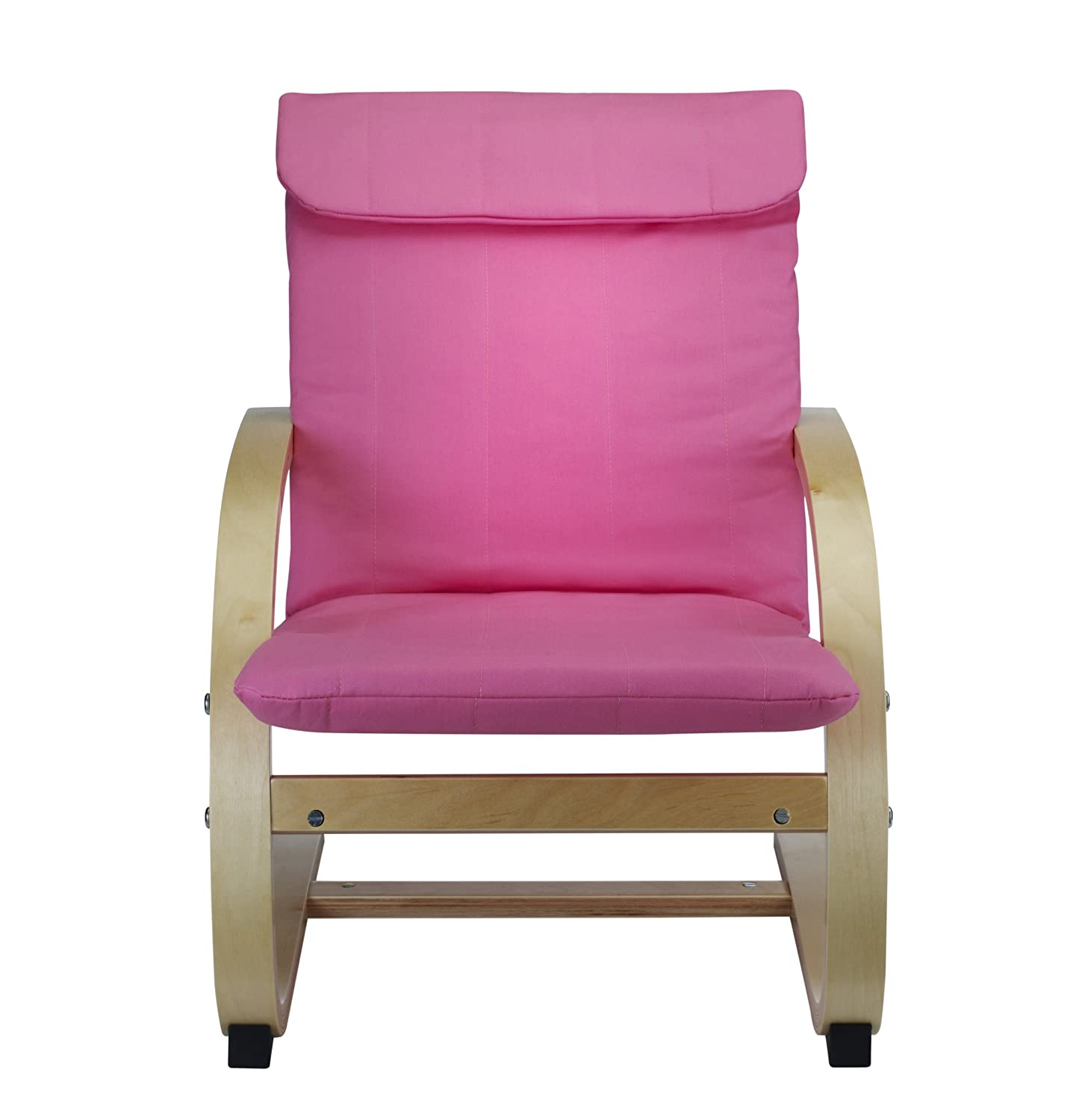 Kids Lounge Chair in Pink Bentwood Childrens Chair Amazon