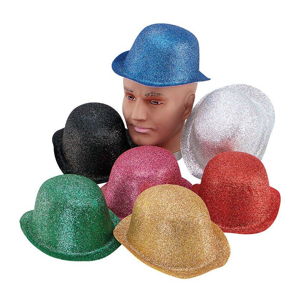 Glitter Bowler Hat Glitter Bowler Hat Black
