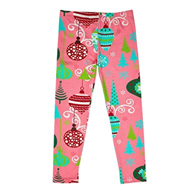 bonbon clouds girls christmas leggings made out of 95 cotton and 5 spandex