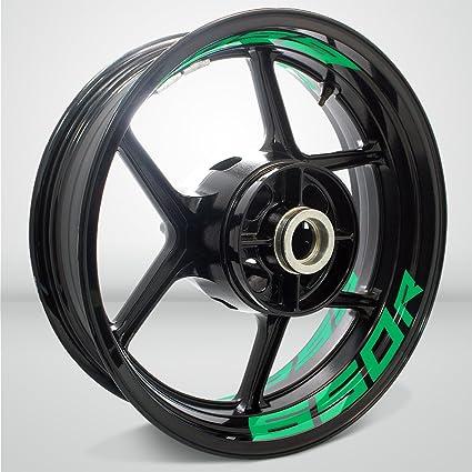 Amazon.com: Reflective Green Motorcycle Inner Rim Tape ...