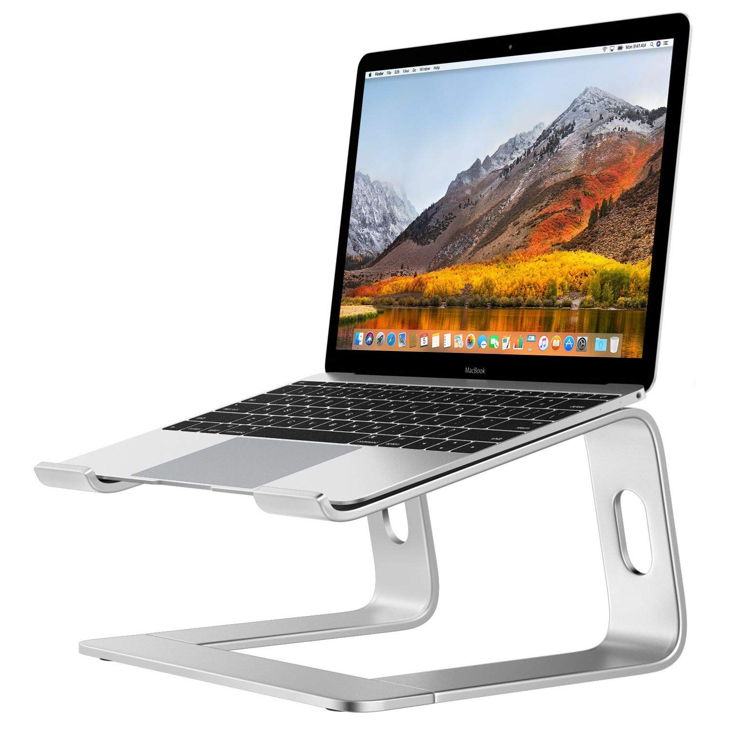 Desire2 Laptop Stand, View Ergonomic Aluminum Laptop Computer Stand, Detachable Laptop Riser Notebook Holder Stand Compatible with MacBook Air Pro, Dell XPS, HP, Lenovo More 10-15.6'' Laptops
