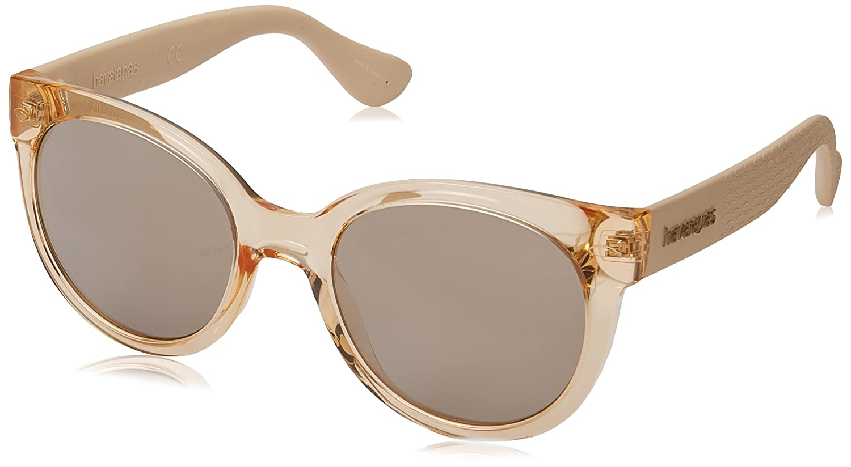 Havaianas Noronha Gafas de sol, Dorado (Gold), 52 para Mujer