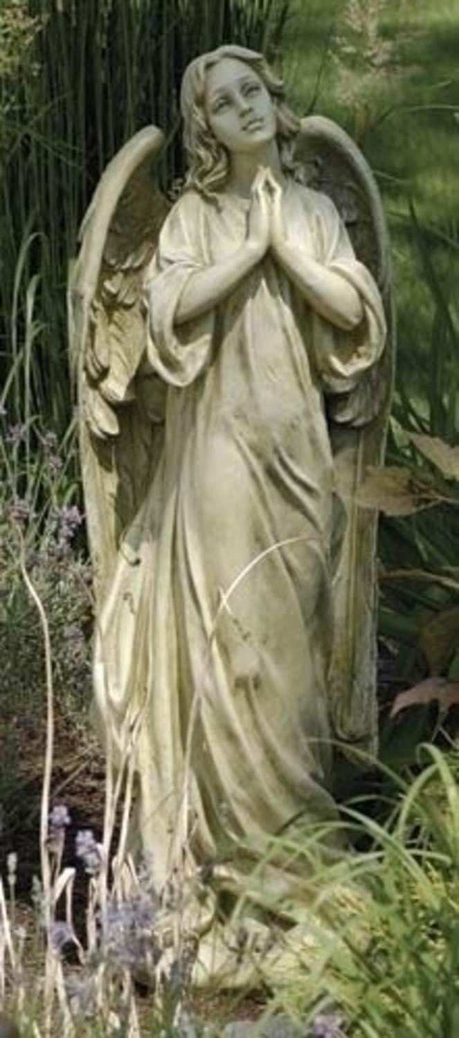 36'' Joseph's Studio Heavenly Praying Angel Outdoor Garden Statue