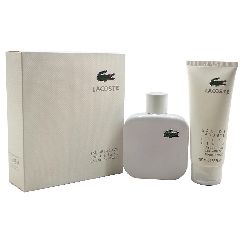 Lacoste Eau de Lacoste L.12.12 Blanc Gift Set 100ml EDT + 100ml Shower Gel 350-90456