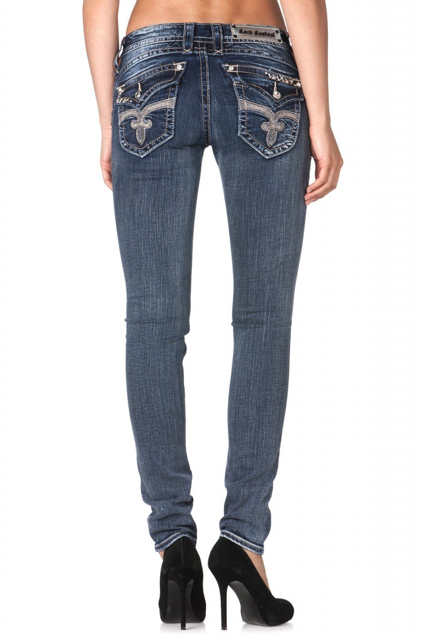 Rock Revival Jeans for Womens - Stephanie Skinny Jean (Style#RJ8132S33)
