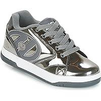 Heelys Unisex Kids Fitness Shoes, Multicolour (Pewter/Chrome 000), 5 UK