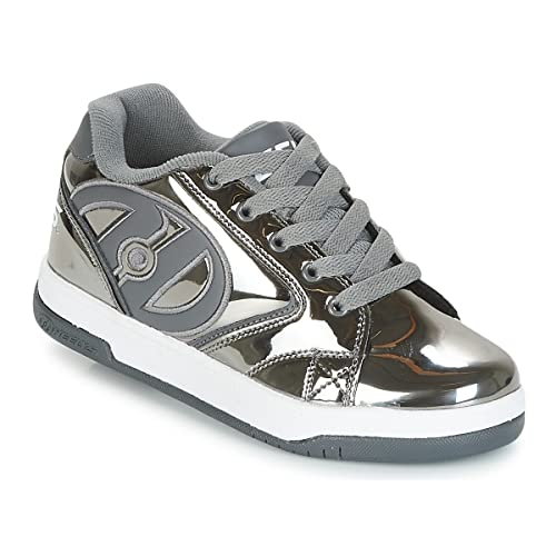 31463331c3 Heelys Unisex Kids Fitness Shoes, Multicolour (Pewter/Chrome 000), 3 UK