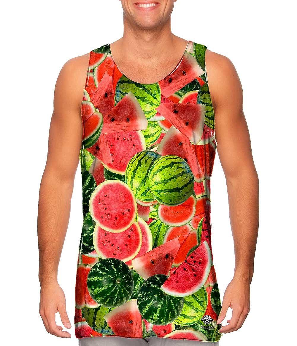 Yizzam Tshirt Watermelon Jumbo Mens Tank Top