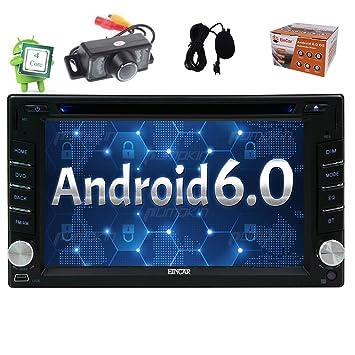Eincar Android 6.0 est¨¦reo del coche 6.2 Unidad de doble 2Din