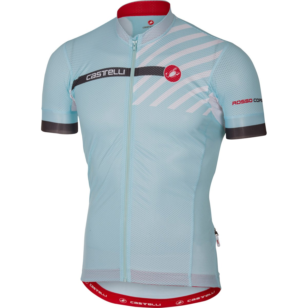 Amazon.com   Castelli Free AR 4.1 Full-Zip Jersey - Men s Pale Blue ... f526dbcca