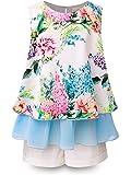 Bonny Billy Little Girls' Short Set Flower Top and