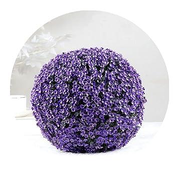 Boule Decoration.Amazon Com Artificial Plants Large Green Imitation Plastic