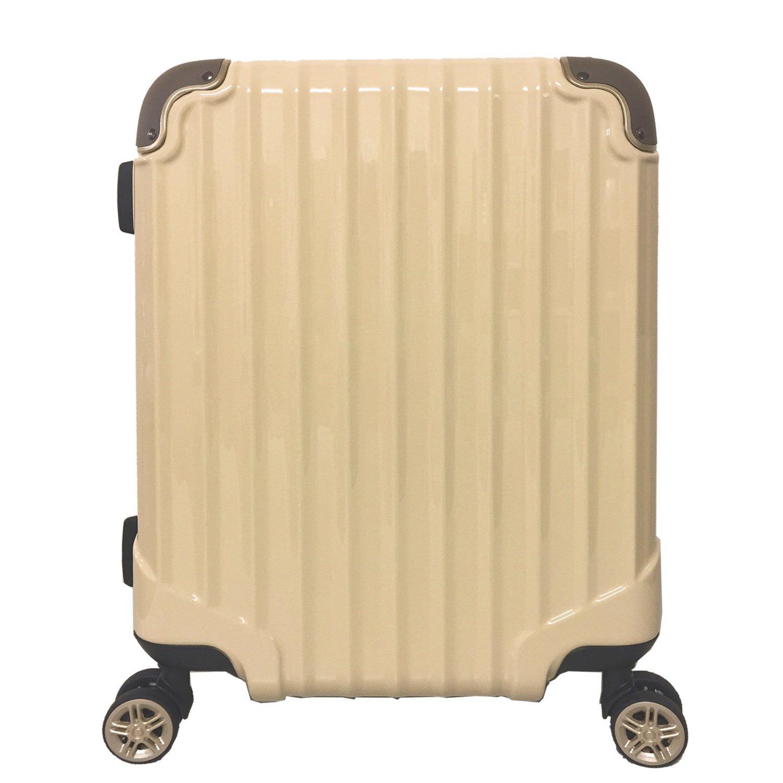 【A PERFORMER】 ファスナーキャリー拡張機能TSAロック搭載低重心Wキャスター8輪(00102-00302-00402) B071HYJXSQ M-00302|クリーム クリーム M-00302