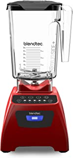 product image for Blendtec Classic 575 Blender - WildSide+ Jar (90 oz) - Professional-Grade Power - Self-Cleaning - 4 Pre-programmed Cycles - 5-Speeds - Poppy Red (Renewed)