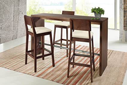 counter height bar table Amazon.com: Artefama Furniture Gourmet Counter Height Bar Table  counter height bar table