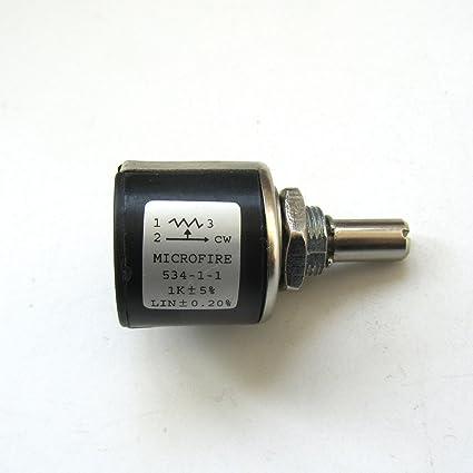 Amazon Com Kunpeng Potentiometer Microfire 534 1 1 1k 1pcs For