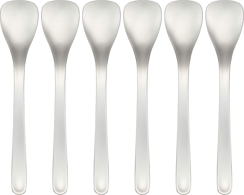 japan import Sori Yanagi ice cream spoon set of 6