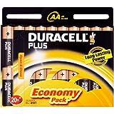 Duracell Plus Pack de 20 x Batteries AA  (Import Royaume Uni)