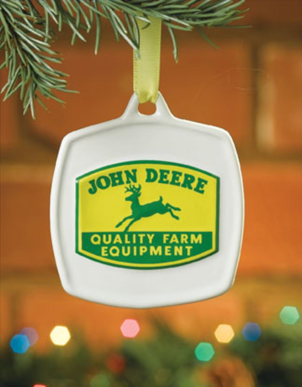 Amazon.com: John Deere Christmas Ornament 1950 Vintage Quality Farm ...