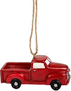 The Country House Collection Little Red Truck Ornament (3.75