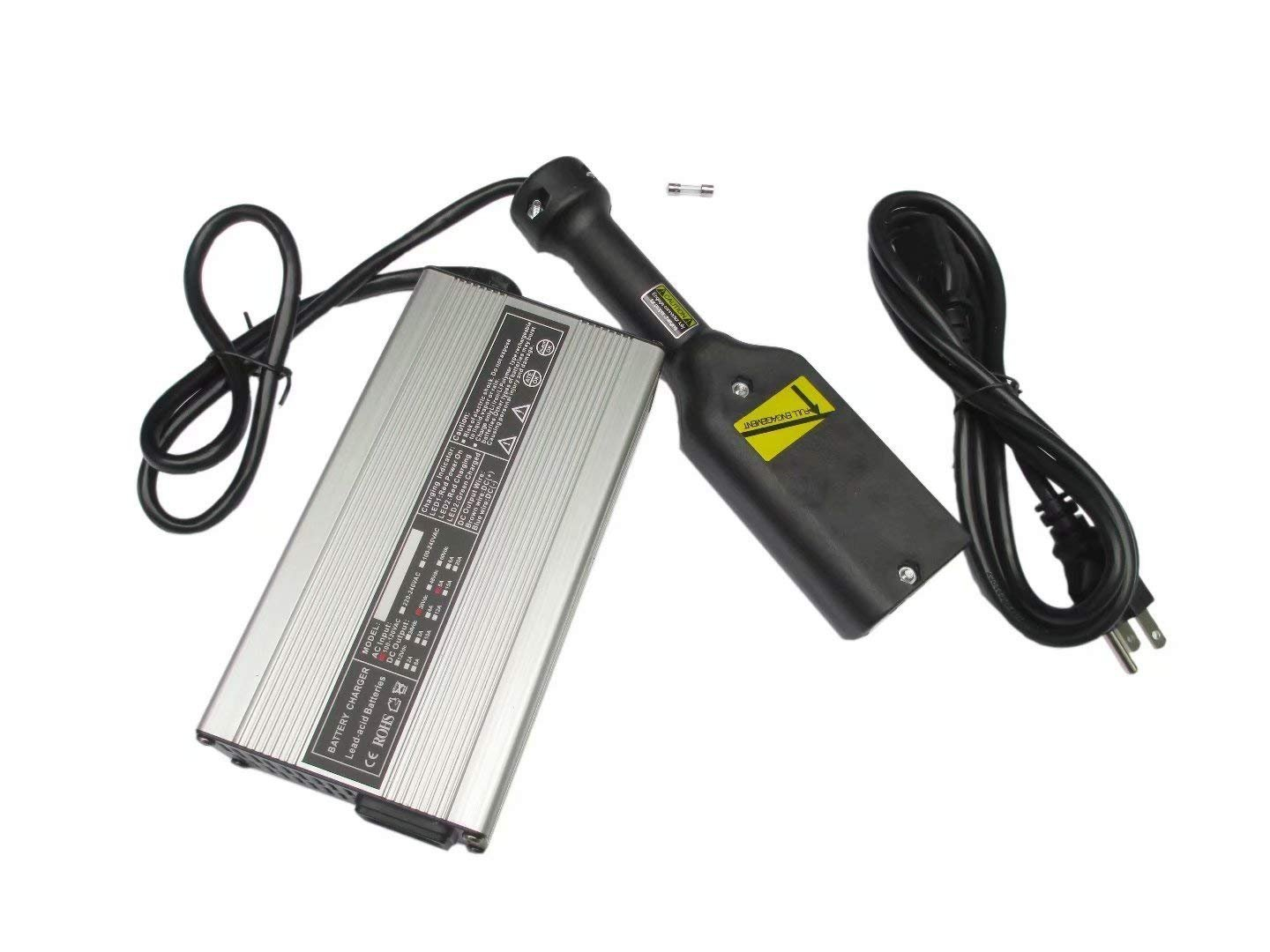 NEW 36V EZ-GO Powerwise 36 Volt TXT Medalist Golf Cart Battery Charger''D'' Style by JEM&JULES (Image #5)
