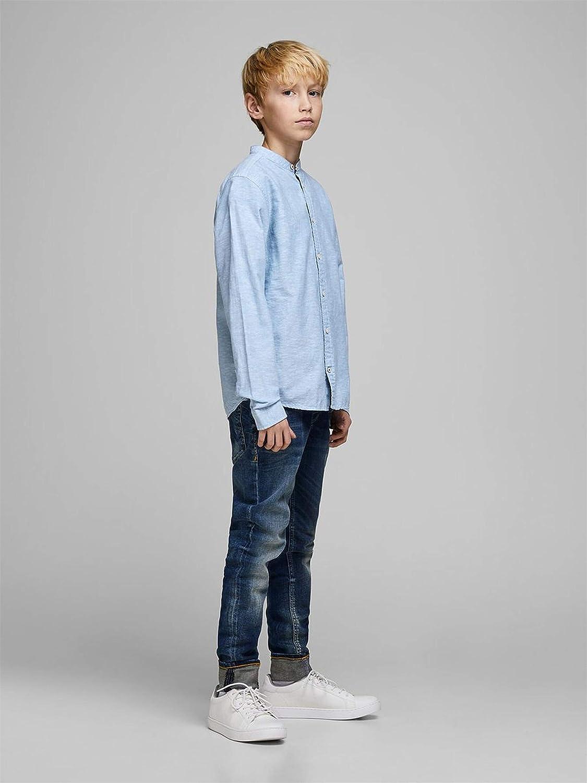 JACK/&JONES 12165362 Summer Band Hemd Boy