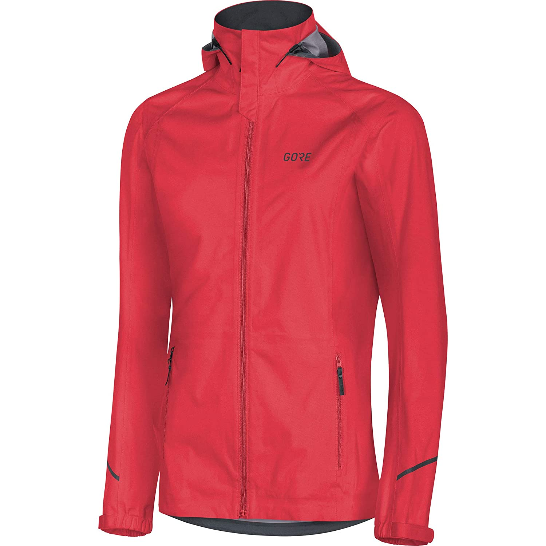 Hibiscus Pink GORE Wear R3 Ladies Hooded Jacket GoreTEX Active