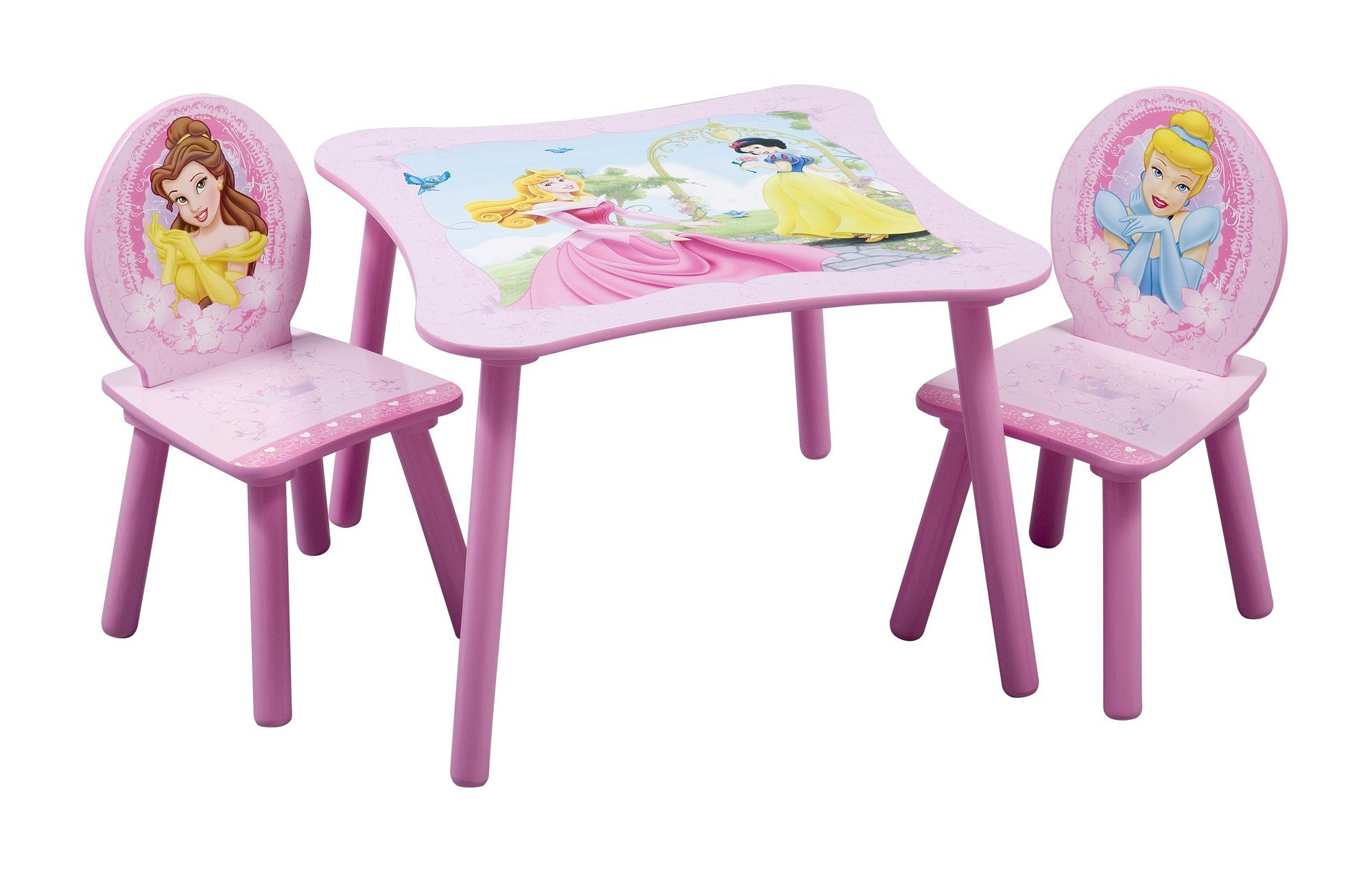 Delta Children Kids Table and Chair Set, Disney Princess
