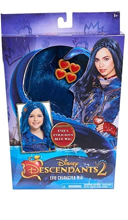 Just Play Descendants 2 Wig - Evie