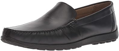 2d03878b3e65 ECCO Men s Reciprico Moc Driving Style Loafer Black 39 M EU (5-5.5 US