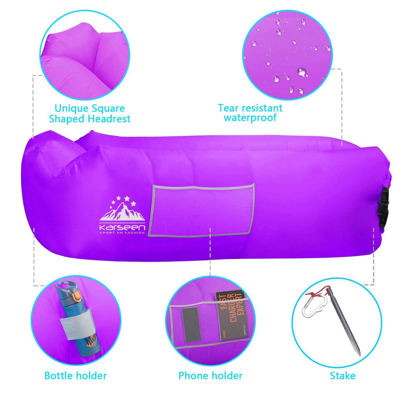 KARSEEN Gonflable Chaise Longue Air Canap/é