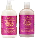 Shea Moisture Superfruit Complex 10-in-1 Renewal System Shampoo & Conditioner 13 fl oz each