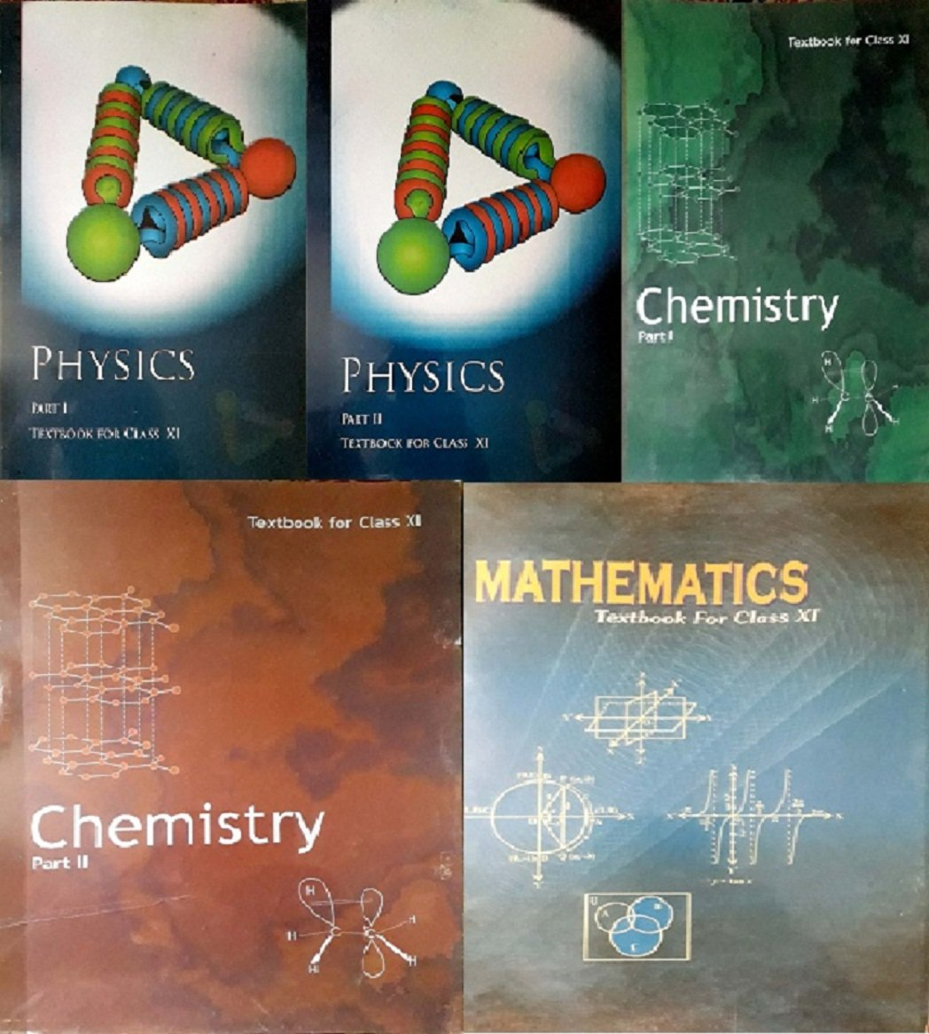 NCERT Physics Part 1 & 2, Chemistry Part -1 & 2 And Mathematics