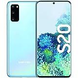 Samsung Galaxy S20-128 GB/8 GB (Cloud Blue) Dual-SIM Smartphone [Spansk version]
