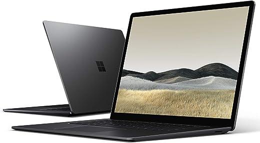 "Microsoft Surface Laptop 3, 13.5"", Core i5, RAM 8 GB, SSD 256 GB, Nero, Tastiera layout QWERTY Italiano"