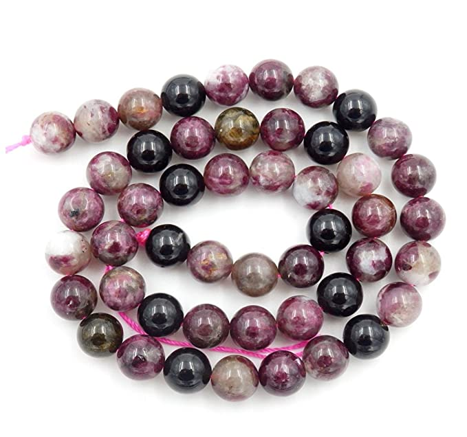 Natural Pink Tourmaline Round Faceted AAA Quality Loose Gemstones 1.5mm - 6mm