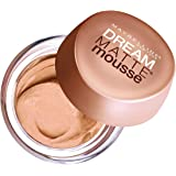 MAYBELLINE NEW YORK Dream Matte Mousse Foundation, Honey Beige, 0.64 Ounce