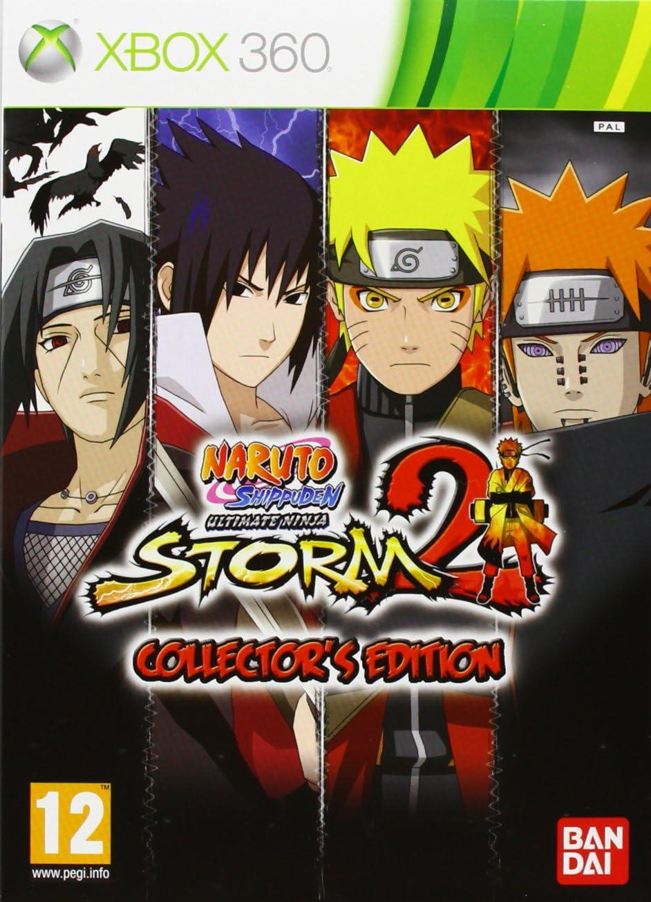 Naruto Shippuden Ultimate Ninja Storm 2 Collector S Edition Xbox 360 Amazon Co Uk Pc Video Games