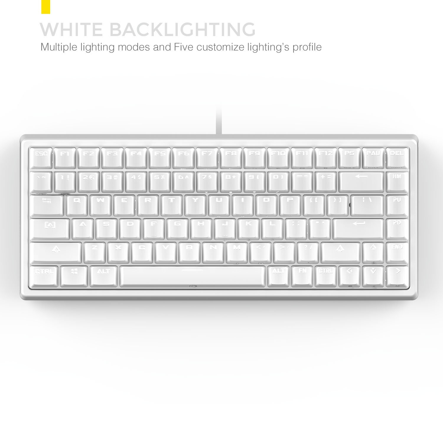 Drevo Gramr 84 Key Backlit Usb Wired Tenkeyless Pc Printed Circuit Board Customized Pcb Boards Buy Tablet Mechanical Gaming Keyboard Brown Switch White Computers Accessories