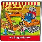 Boxine 11302-1033 - Tonie Benjamin Blümchen als Baggerfahrer, Lernspielzeug
