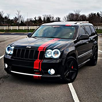 Amazon.com: Decal Sticker Graphic Front to Back Stripe Kit ...