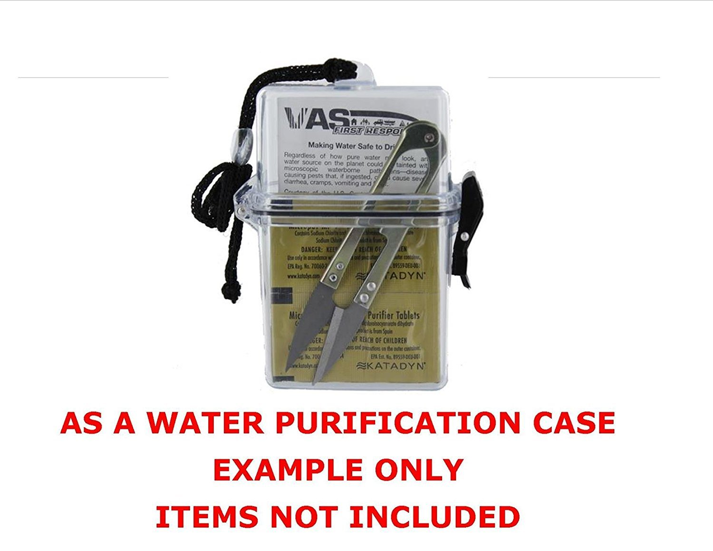 VAS First Response VAS Waterproof DUST Resistant Sports Dry Box CASE | ID  Holder | Credit Cards | Lanyard | Money | Badge | Cruise | Travel | Beach |