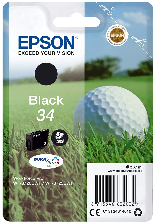 Epson C13T34614020 6.1ml Nero cartuccia d'inchiostro 235M553