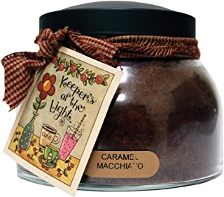 product image for A Cheerful Giver Caramel Macchiato Mama Jar Candle, 22-Ounce