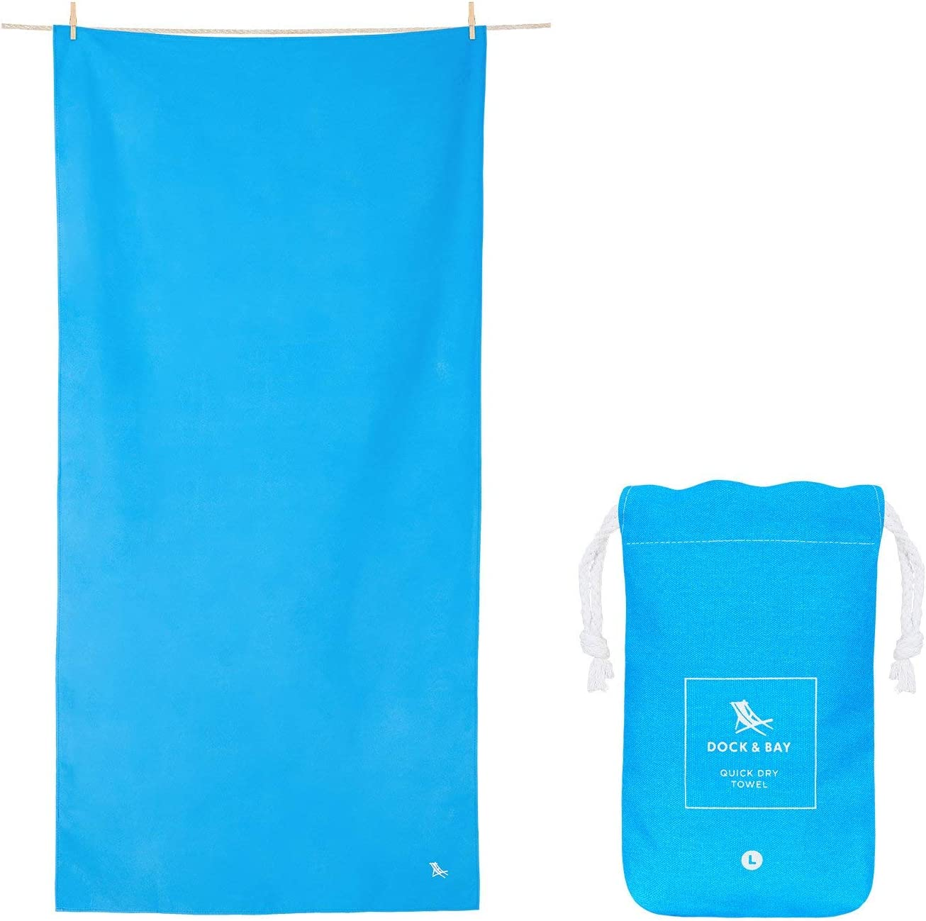 Dock & Bay Quick Dry Compact Travel Towel