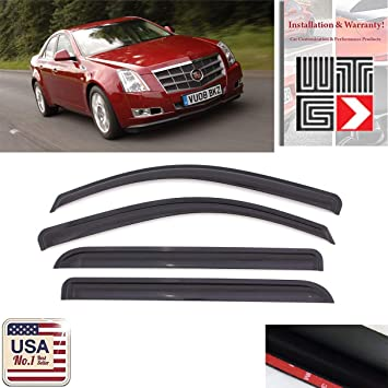 GGBAILEY D50724-F1A-RD-IS Custom Fit Car Mats for 2011 2012 2013 Cadillac CTS Sedan Red Oriental Driver /& Passenger Floor