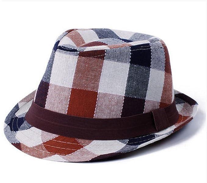 85e0c1a0574c0 En Verano Los Niños Y Niñas Sombreros Del Bebé Sombrero Del Jazz Sombrero  Para El Sol La Marea Del Casquillo Del Recorrido  Amazon.es  Ropa y  accesorios