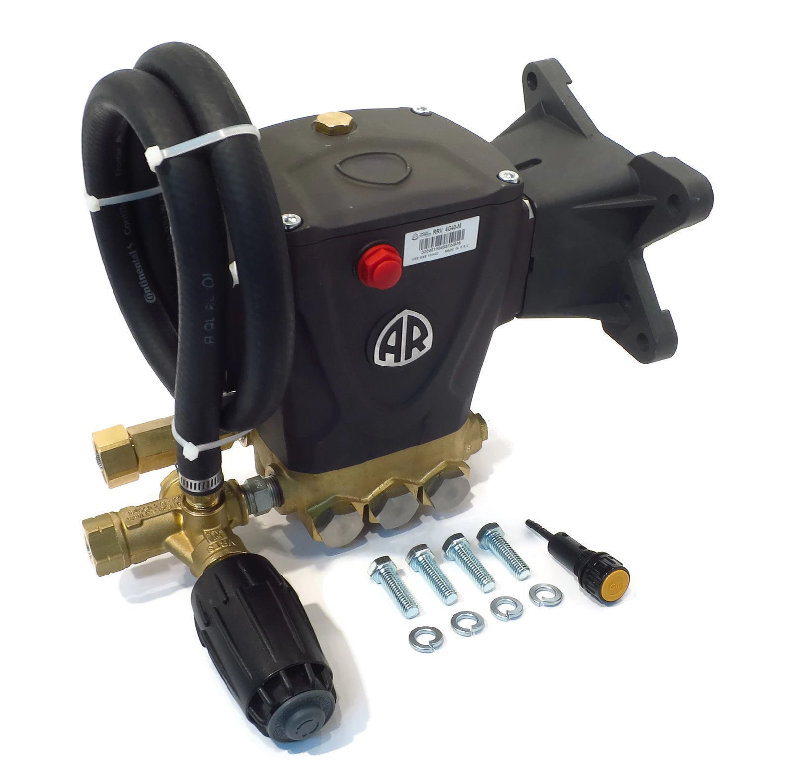 4000 psi AR Power Pressure Washer Pump & VRT3 - RRV 4G40-M Annovi Reverberi by The ROP Shop
